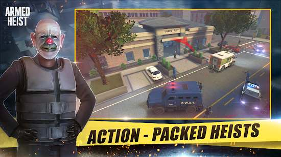 Armed Heist: Ultimate Third Person Shooting Game Mod Apk