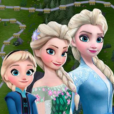 Disney Frozen Free Fall Play Frozen Puzzle Games 01 mod apk