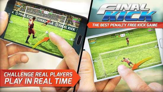 Final kick: Online football Android