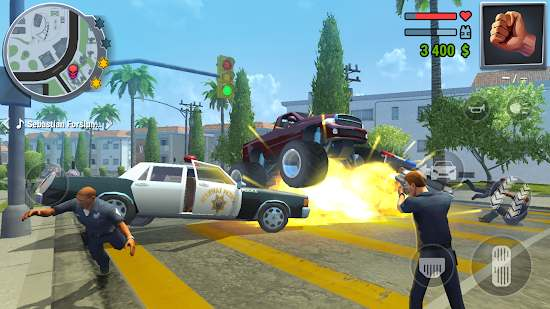 Gangs Town Story - action open-world shooter Android