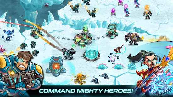 Iron Marines RTS Offline Real Time Strategy Game