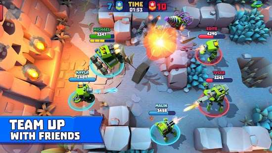 Tanks A Lot! - Realtime Multiplayer Battle Arena Android