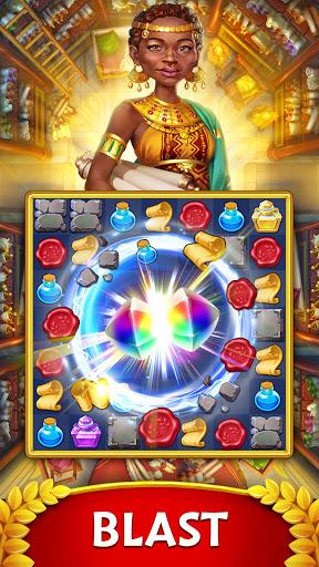 Jewels of Rome Match gems to restore the city Android