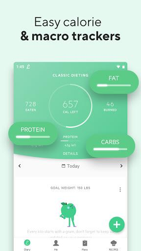 Lifesum Calorie Counter Food Nutrition Tracker Android