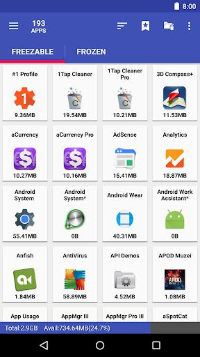 AppMgr Pro III App 2 SD Android
