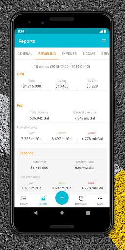 Drivvo Car management Android