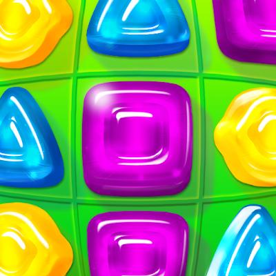 Gummy Drop Match to restore and build cities 01 mod apk