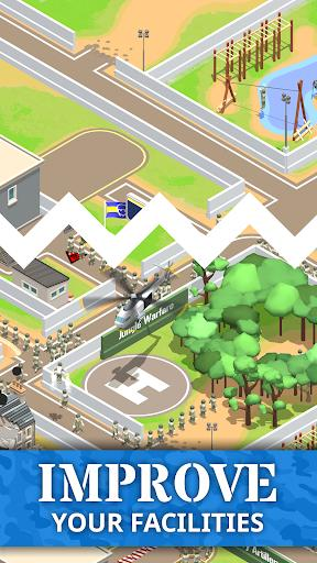 Idle Army Base Android