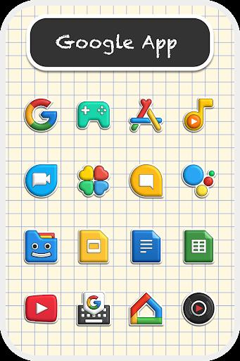 Poppin icon pack Mod Apk