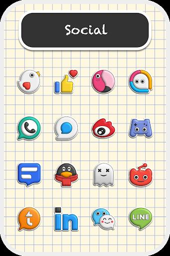Poppin icon pack Apk