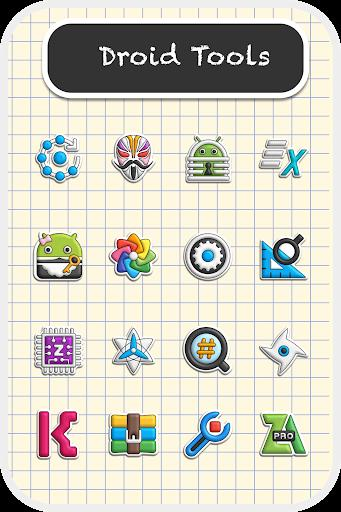 Poppin icon pack Android