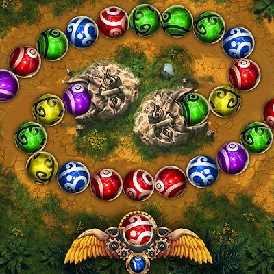 Marble Duel match 3 spheres PvP spells duel game 01 mod apk