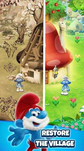 Smurfs Bubble Story Android