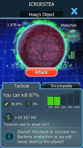 Bacterial Takeover Idle Clicker Mod Apk