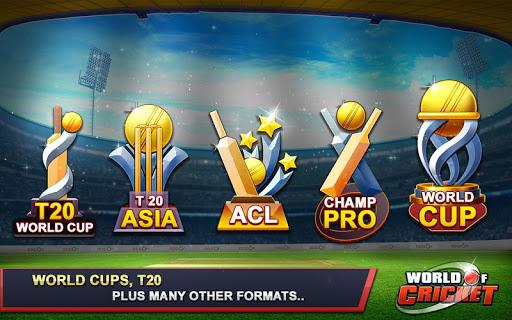 World of Cricket World Cup Android