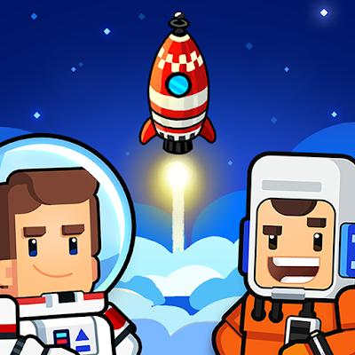 Rocket Star Idle Space Factory Tycoon Game 01 mod apk