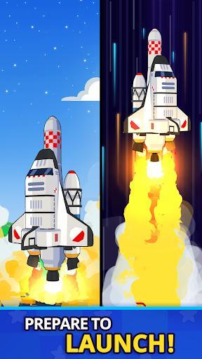 Rocket Star Idle Space Factory Tycoon Game Apk