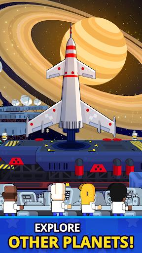 Rocket Star Idle Space Factory Tycoon Game Android