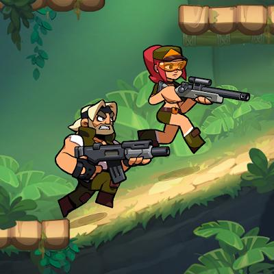 Bombastic Brothers Top Squad 2D Action shooter 01 mod apk
